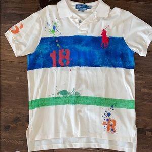 Men's shirt sleeve Polo